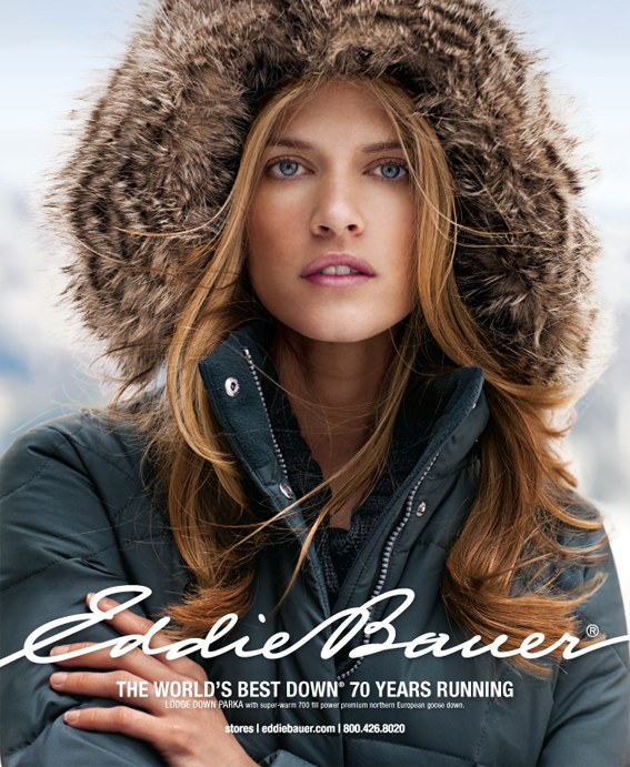 Eddie Bauer Down Advertising 2010