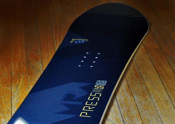 Morrow Press Snowboard